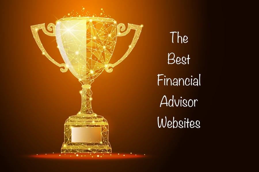 trophy for best financial advisor websites