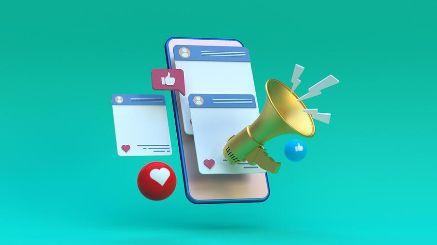 Facebook advertising creating engagement