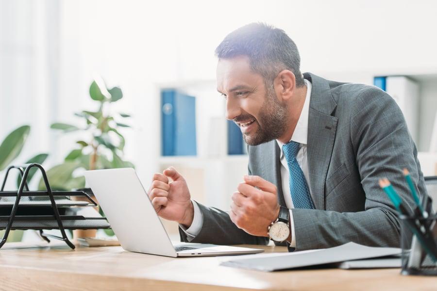 financial advisor researching marketing topics