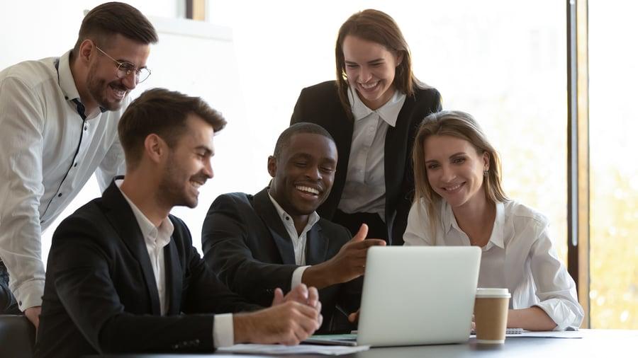reviewing financial advisor website