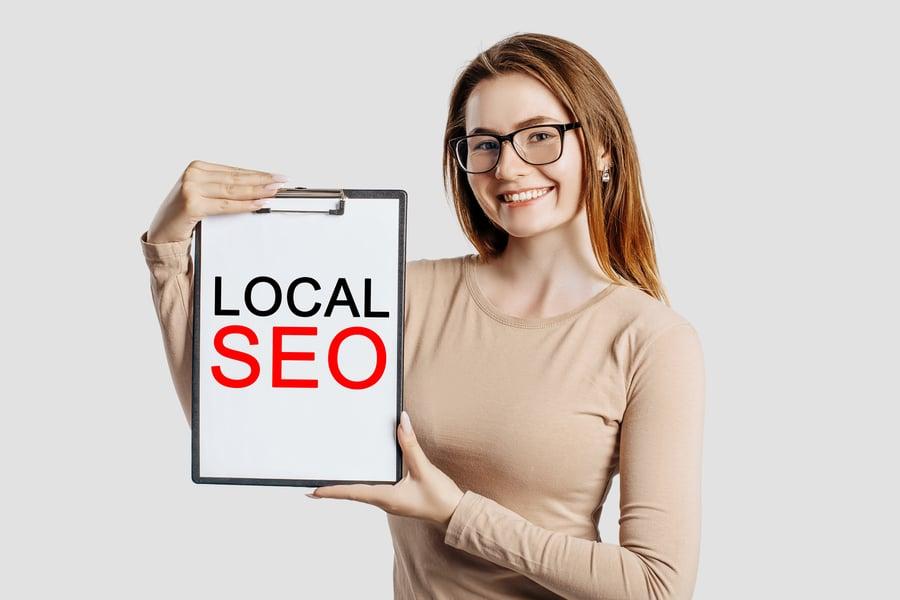 local SEO for financial advisor website