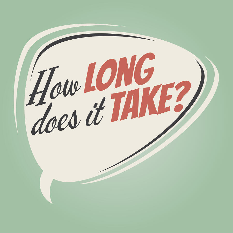how long does it take for SEO