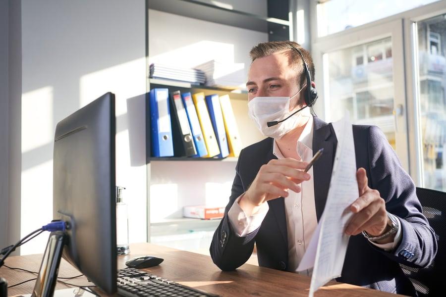 financial advisor marketing digitally during COVID