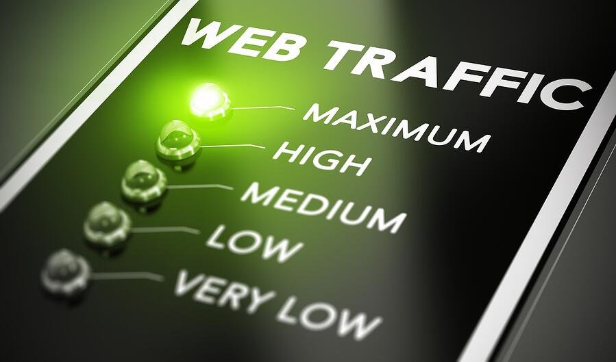 paid advertising increasing website traffic