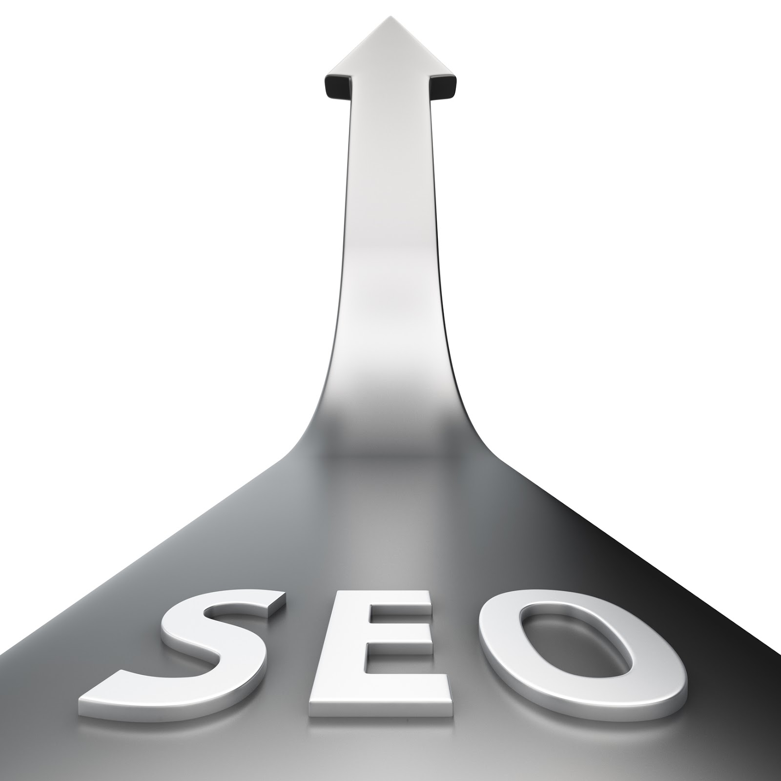 silver arrow showing increase in SEO