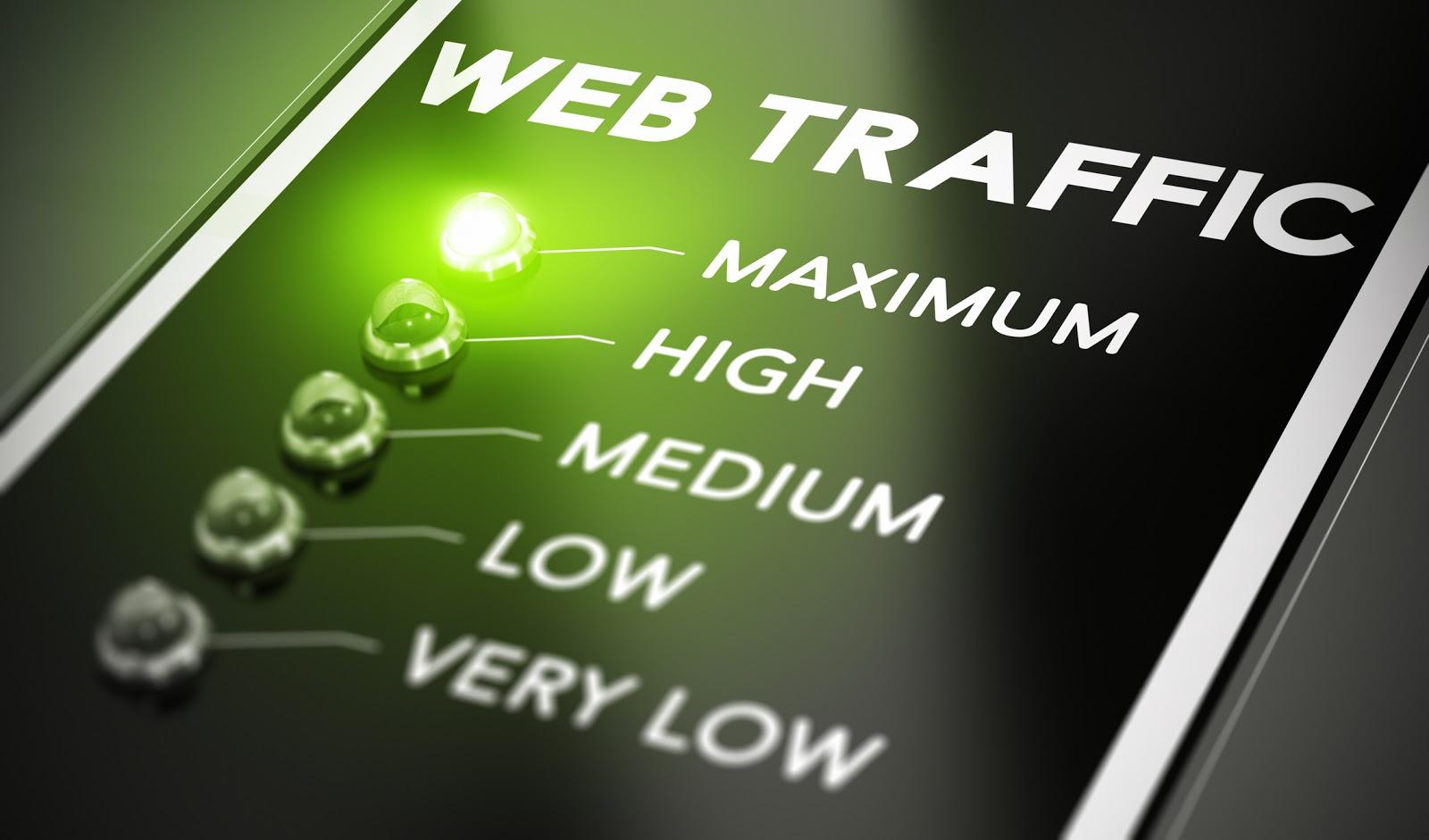 paid advertising increasing website traffic